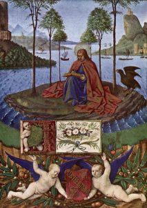 fouquet-heures-d-etienne-chevalier-saint-jean-a-patmos-1452-60